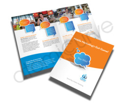 Custom 4 page Brochure Design