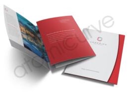 6 page custom brochure design