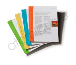 1 page brochure series