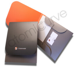 Custom Pocket Folder Brochure Design