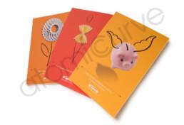 1 page brochure slick design