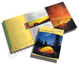 6 page brochure design