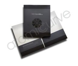 Pocket Folder Design Black on Black