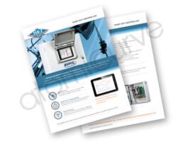 2 page brochure design flyer