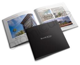 Multi-page custom real estate brochure design