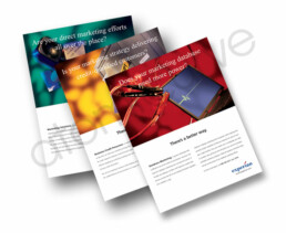 1 Page brochure design for infromation services