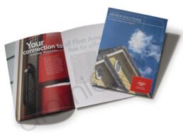 4 page real estate brochure design