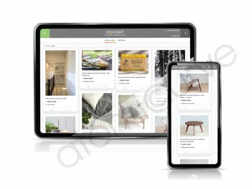 Custom marketplace website Design Responsive
