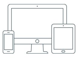 Responsive website design icon