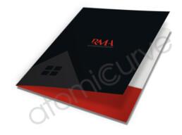 Real Estate Pocket Folder Custom Design