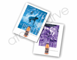 2-sided sales flyers