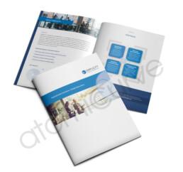 Financial Company Brochure Design